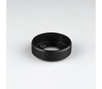 Winger Beauty Ring Delrin Noir (24/22)
